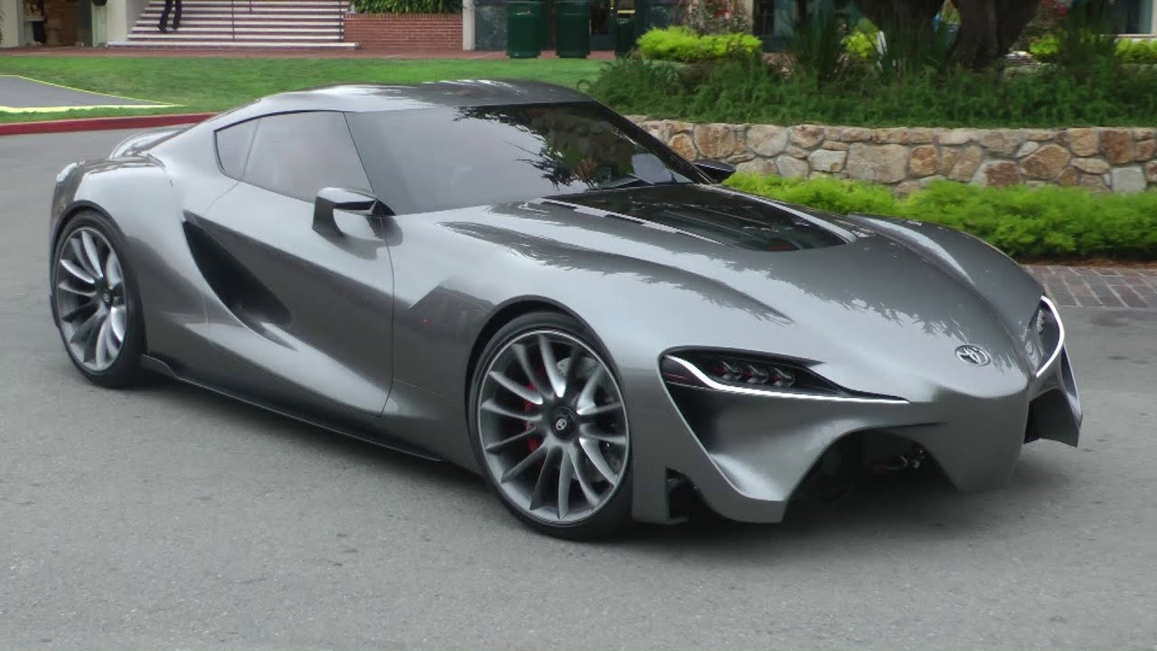 Toyota Ft 1 Concept Rolling Car Makes No Sound Youtube