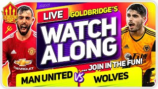 MANCHESTER UNITED vs WOLVES With Mark GOLDBRIDGE LIVE