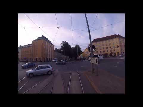 Helsingin Raitiolinja:7 Pasila-Länsiterminaali.Uusi reitti(2017)Helsinki Tramline:7New route(2017)