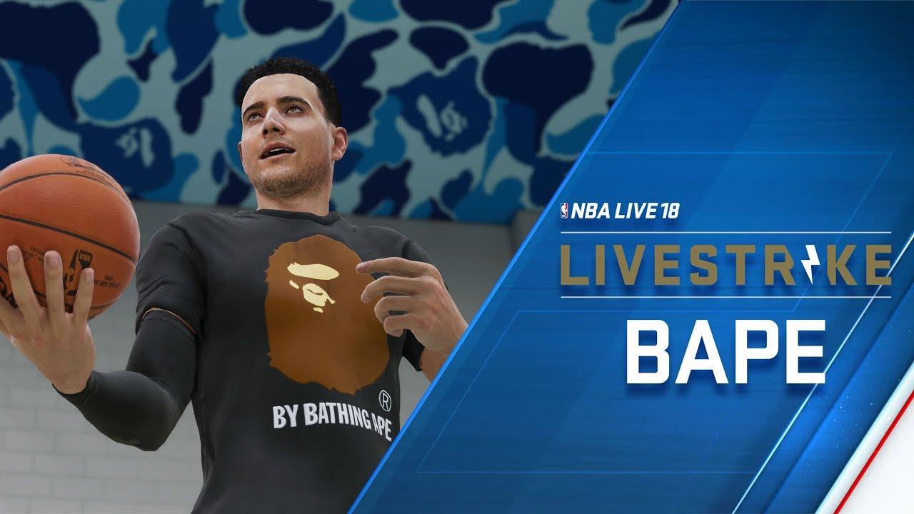 NBA LIVE 18 – LIVESTRIKE – Earn Dope Gear from BAPE