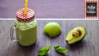 Avokado Smoothie Pratik Tarif - Avocado Smoothie Quick Recipe