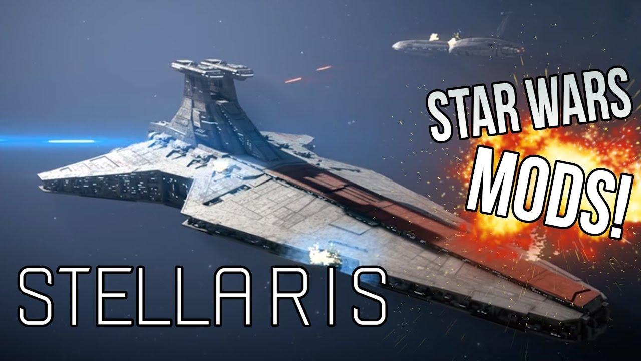 Stellaris : Star Wars Mod Collection (The Galactic War)