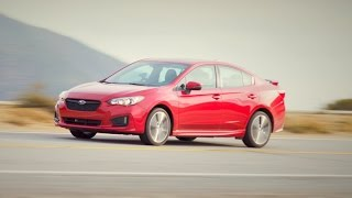 2017 Subaru Impreza Reviewed and Driven