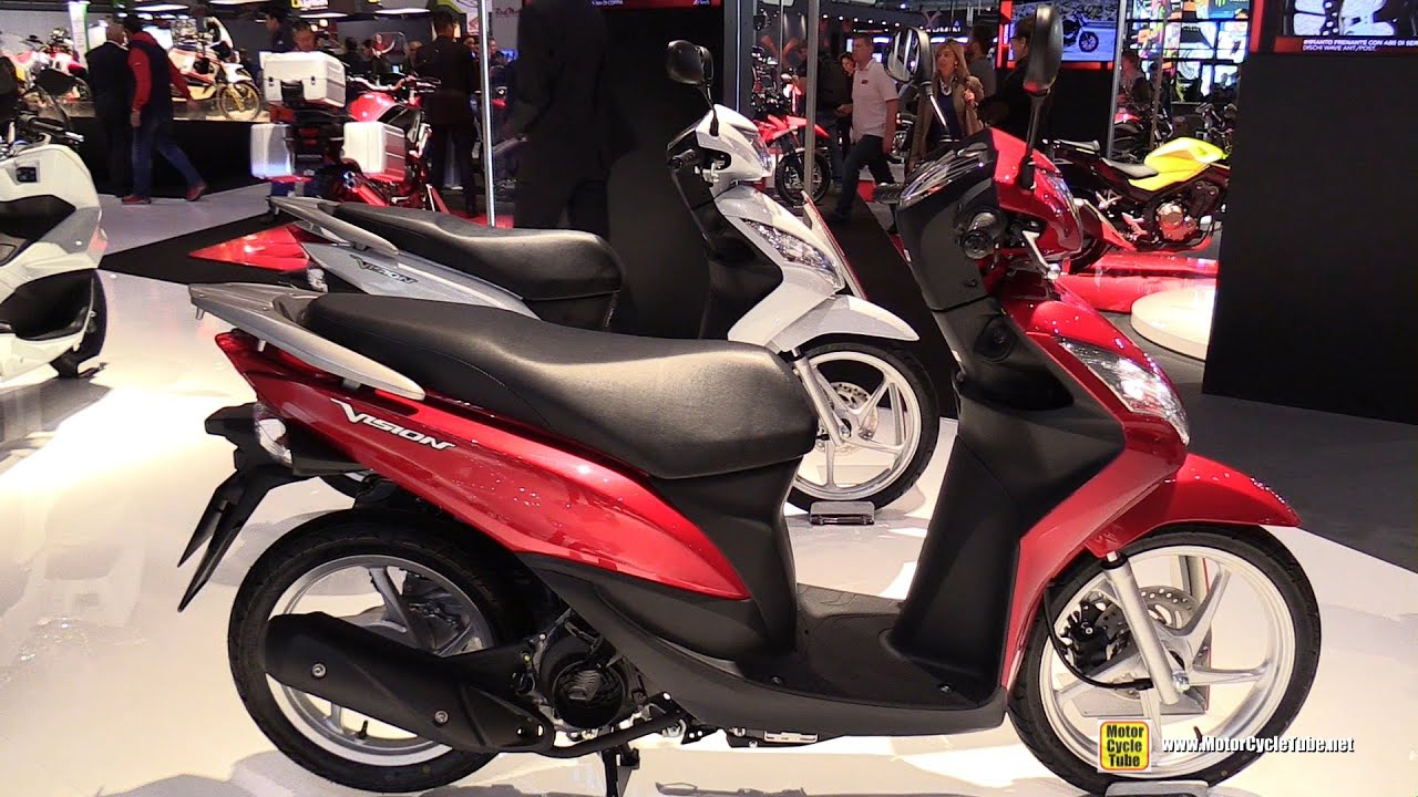 2016 honda vision 50 scooter walkaround 2015 eicma. Black Bedroom Furniture Sets. Home Design Ideas