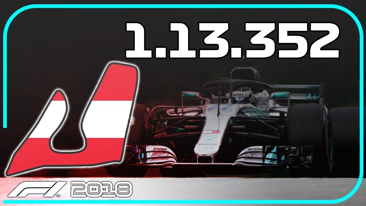 F1 2018 | AUSTRIA WET HOTLAP + SETUP (1:13 352) - AOR Time Trial