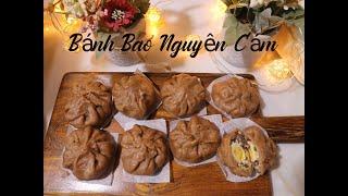 [EAT CLEAN] LÀM BÁNH BAO TỪ BỘT NGUYÊN CÁM ❤️ Bếp Healthy- Make Dumplings From Whole Wheat Flour