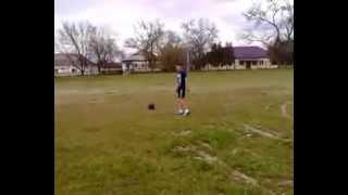 видео урок удар по мячу