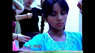 Svetlana Tulasi - 10 year old Kathak beginner