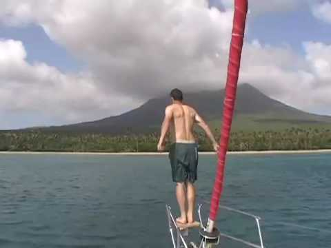 Sailing the Leeward Islands from Guadeloupe to St. Martin