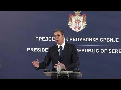 Predsednik Vučić: Koferencija za novinare - 2. deo