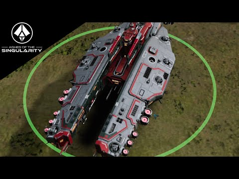 Ashes of the Singularity Gameplay - 3v3 Tough AI