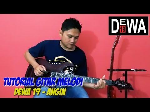 Tutorial Belajar Melodi Gitar Dewa 19 Angin By Sobat-P