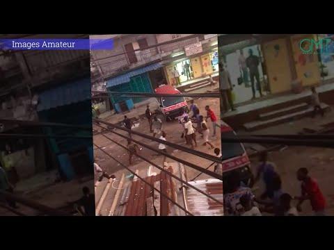 [#Didiii] 🎥 Bagarre de jeunes aux couteaux quelque part à la Gare-Routière (vidéo amateur) #GMT