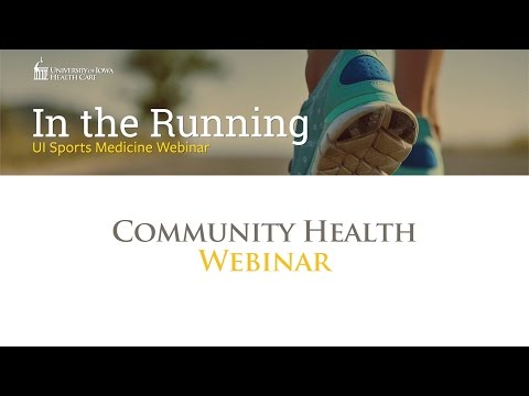 """In The Running"" Sports Medicine Webinar (March 29, 2016)"