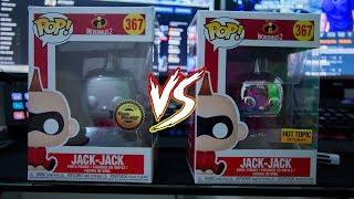 Jack-Jack Exclusivo Gameplanet VS HOT TOPIC