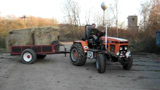zetor 7711 comunal odvoz sena i
