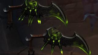 World of Warcraft: Legion Rogue Balance of Power Ending and Artifact Skins