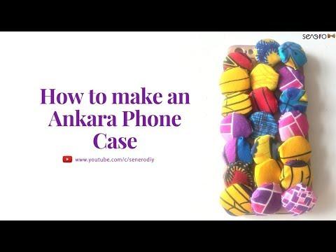 How to make an Ankara Phone Case (detailed)
