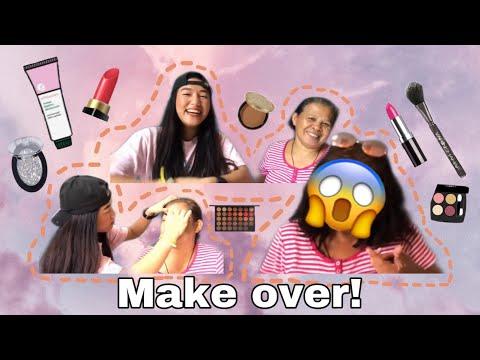 MINAKE-UPAN KO SI YAYA! (NAG MUKHANG BATA)   PHILIPPINES