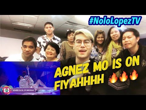 Filipinos Crazy Over Agnez Mo's KONSER RAYA 24 THN INDOSIAR Performance |Live Reaksi | Nolo Lopez TV