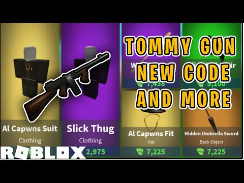 NEW TOMMY GUN UPDATE IN ISLAND ROYALE (ROBLOX)