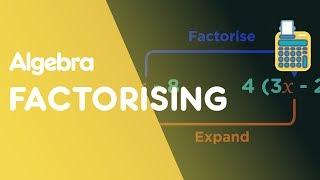 Factorising Expressions - Single Brackets | Algebra | Maths | FuseSchool