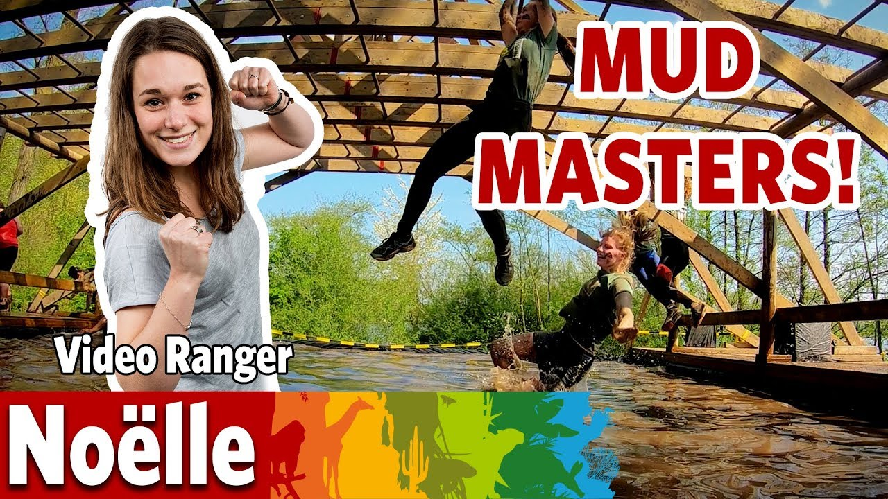 Ik bereid me voor op  Mud Masters in Burgers' Zoo!