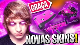 NEW SKINS FOR FREE AND HOW TO GET + ENROLLEES CONTEST! -(Fortnite)