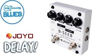 Joyo D-SEED Dual Channel Delay Pedal Demo
