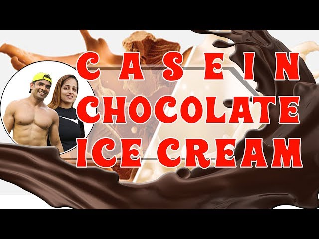 Casein Chocolate Ice Cream | Anti-Catabolic || BodyProCoach || Praveen Nair | Maahek Nair