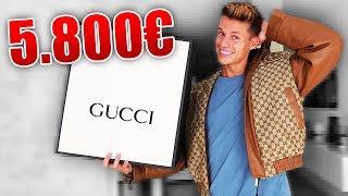 Ich habe mir eine 5.800 € Jacke von GUCCI bestellt und DAS kam dabei raus...