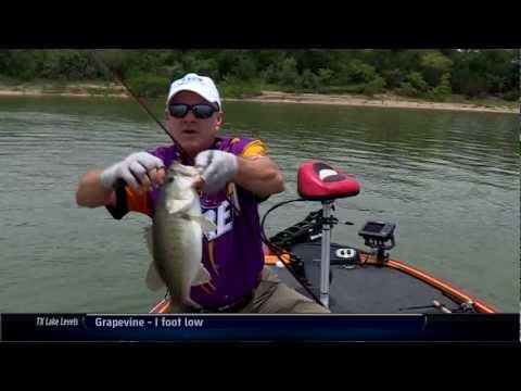 Lake Bardwell TX Bass Fishing Southwest Outdoors Report #13 - 2012 Season