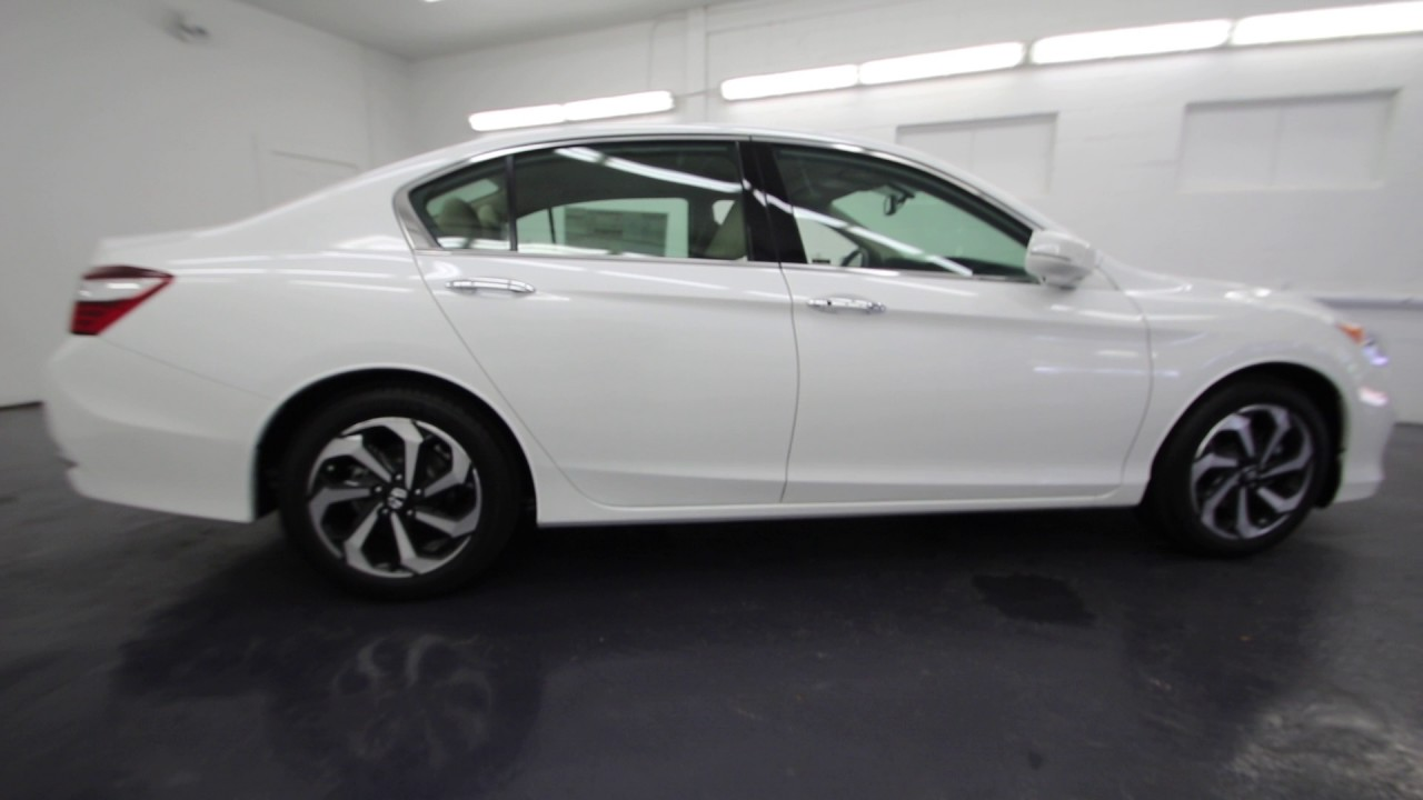 2017 Honda Accord Ex L White Orchid Pearl Ha001582 Seattle On