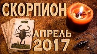 СКОРПИОН - Финансы, Любовь, Здоровье. Таро-Прогноз на апрель 2017