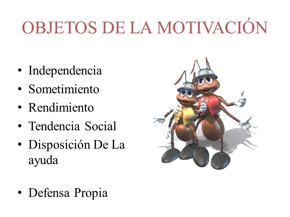 diapositivas motivacion
