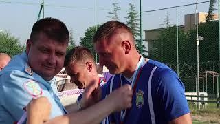 Награждены победители турнира по мини футболу среди подразделений МВД по Республике Крым посвященно
