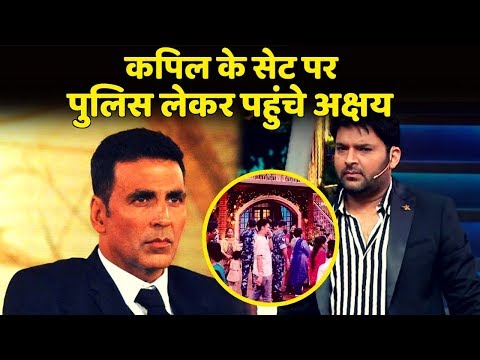 The Kapil Shrama Show: Akshay Kumar Reached With Force At Kapil Sharma's Set For Kesari Promotion