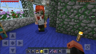 УКРАЛА И ОБМАНУЛА (Анти-Грифер Шоу MINECRAFT PE) 1.0.3 Pocket Edition майнкрафт на СЕРВЕРЕ