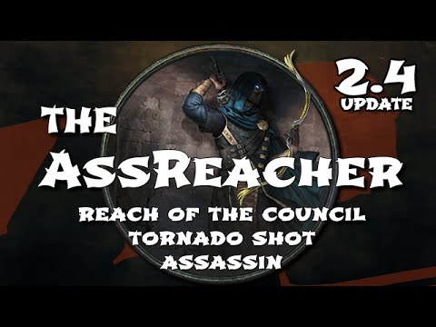 Path of Exile: AssReacher Bow Assassin Build Update - Still Viable in 2.4 Atlas of Worlds?