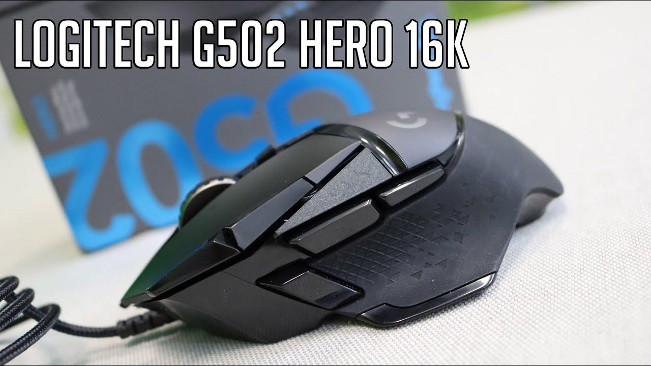 Logitech G502 HERO 16K gaming miš