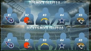 Daniel Jeremiah & Bucky Brooks 2016 NFL Mock Draft Picks 1-5  | Move the Sticks | NFL Free HD Video