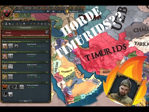 EU4 Broken Timurids Exploit - Easy True Heir of Timur  