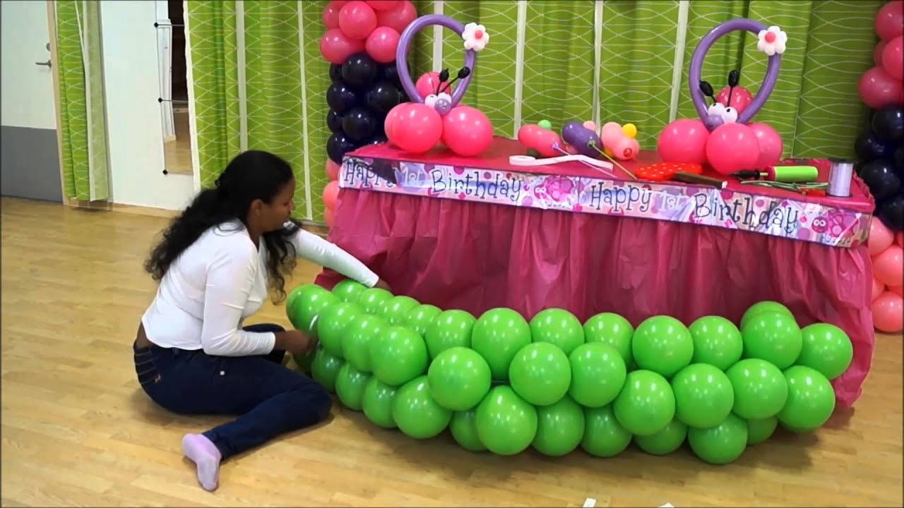 jardin en globos youtube