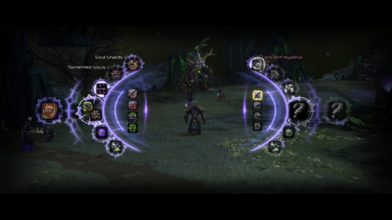 Affliction Warlock Macro HUD System