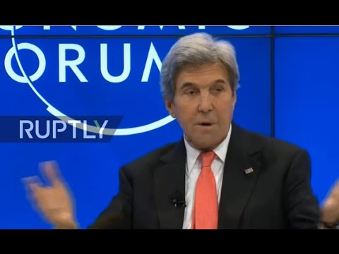 LIVE: WEF 2017: John Kerry on 'diplomacy in an era of disruption'