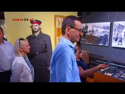 Premier Mateusz Morawiecki Zwiedził Muzeum W Nakle Nad Notecią