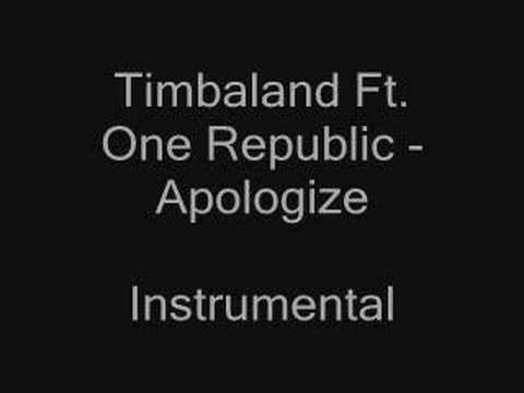 Timbaland Ft. One Republic - Apologize Instrumental