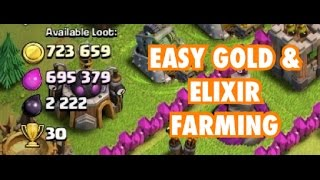 #2 How To FARM GOLD & ELIXIR TH7 | Clash of Clans |
