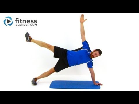 Advanced Total Body Plank Workout Routine - Plank Challenge Workout for Abs