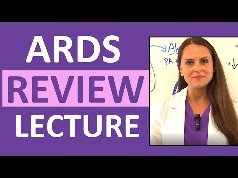 ARDS (Acute Respiratory Distress Syndrome) Nursing - Pathophysiology, Treatment